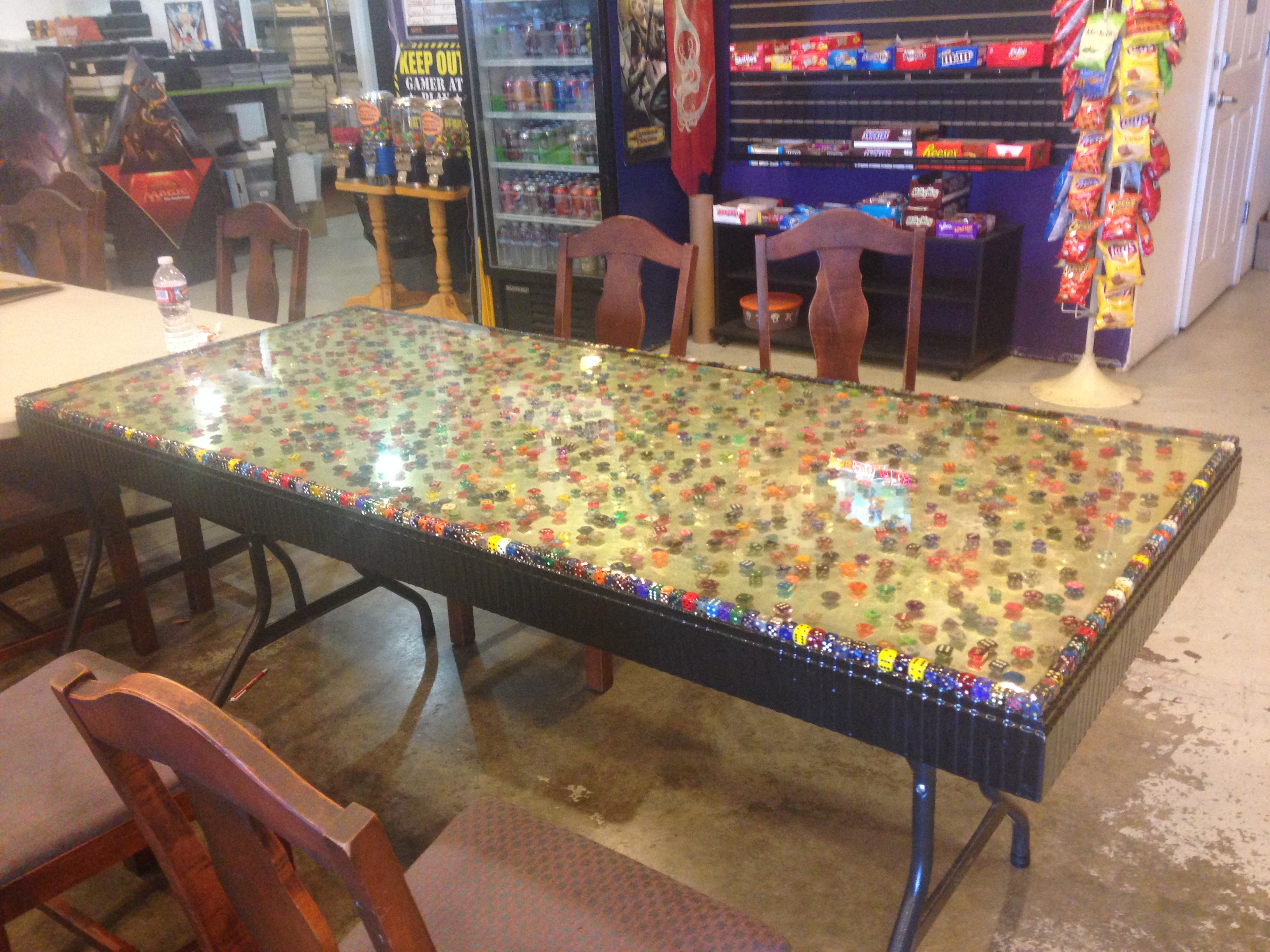 U2026this AMAZINGLY COOL Table That Lives At Castle Hill Games In Grants Pass,  OR. This Table Was One Of The Coolest, Geekiest Things Ever Iu0027ve Seen. The  Store ...